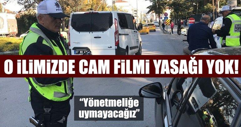 Rize'de cam filmi yasağı uygulanmıyor