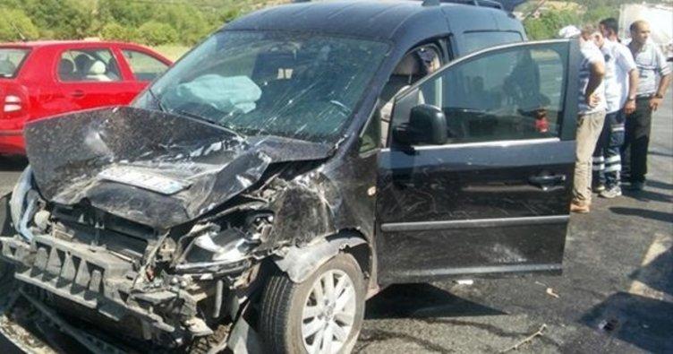 Elazığ'da trafik kazası: 12 yaralı