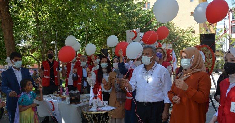 Siverek'te Türk Kızılay'ının 153 yıl dönümü kutlandı