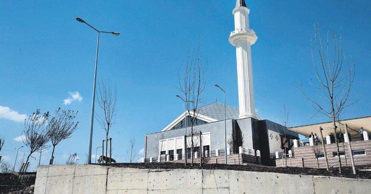 Sincan Cimşit'te bin 100 kişilik cami ibadete hazır