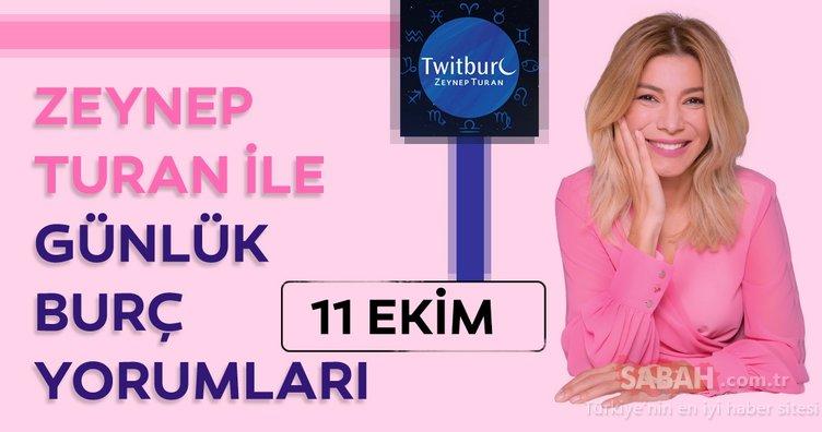 Uzman Astrolog Zeynep Turan ile 11 Ekim 2019 Cuma günlük burç yorumları yayında! Günlük burç yorumu ve Astroloji