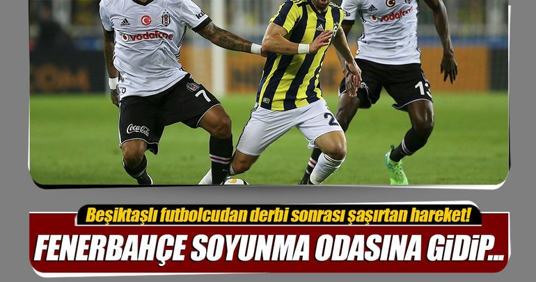 Lens maçın ardından Fenerbahçe soyunma odasına gitti!