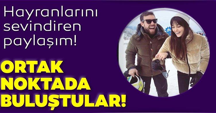 Hande Erçel ve Murat Dalkılıç bu sefer ortak noktada buluştu