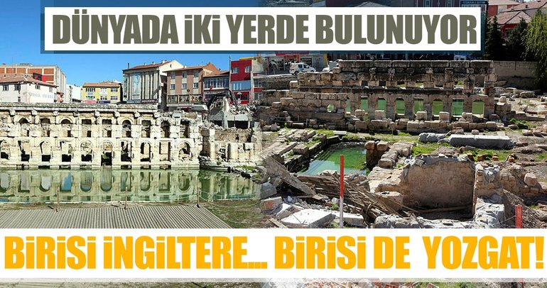 Son dakika: Yozgat'ta 2 bin yıllık Roma Hamamı gün yüzüne çıktı