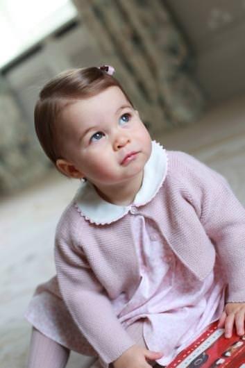İşte Prenses Charlotte'nin son hali
