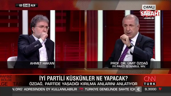 İYİ Parti'li Ümit Özdağ'dan flaş itiraf!