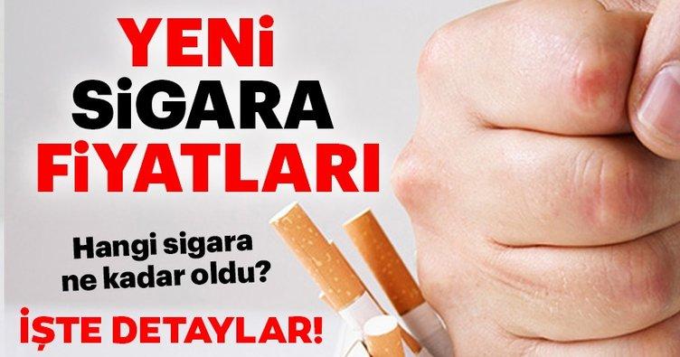 Son dakika haber: Sigaraya zam geldi! Sigara fiyatları ne kadar oldu? İşte 6 Nisan 2019 sigara zammı ile yeni fiyat listesi