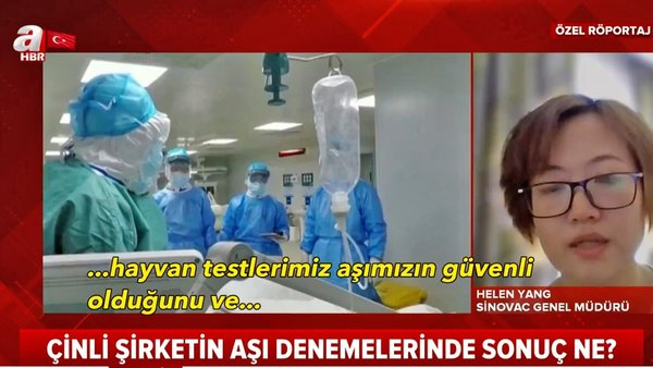 Son dakika haberi: Türkiye'de kullanımına başlanan Covid-19 aşısı üreticisi Çinli firmadan flaş corona virüsü aşısı açıklaması | Video