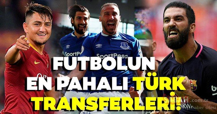 Futbol'un en pahalı Türk transferleri kimler, hangi takımlara gittiler ve bonservis bedelleri ne kadar? İşte detaylar…