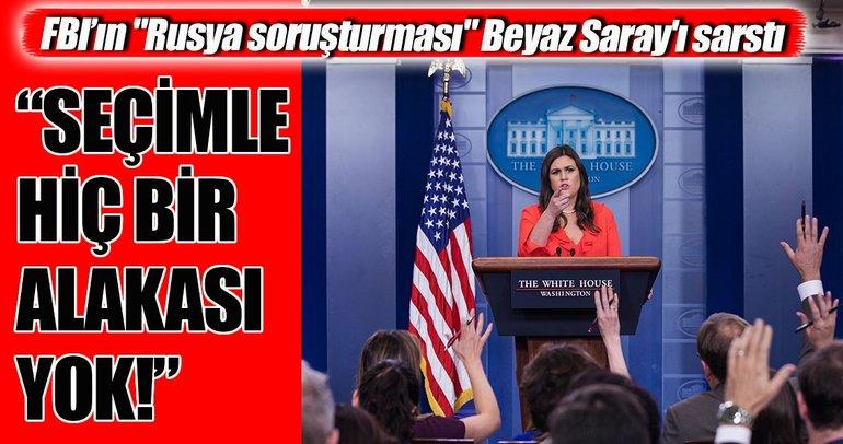 Beyaz Saray'dan Rusya soruşturması açıklaması