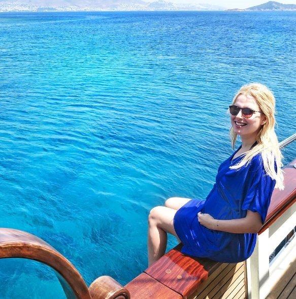 Pınar Sabancı kız bebek bekliyor
