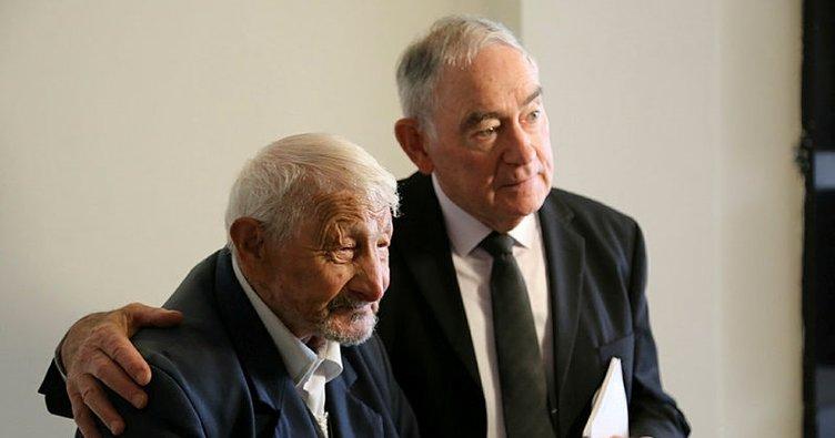 Alzheimer'ın Einstein'ı Prof. Dr. Terence Seedsman ile 109 yaşındaki Mehmet Yılmaz bir araya geldi