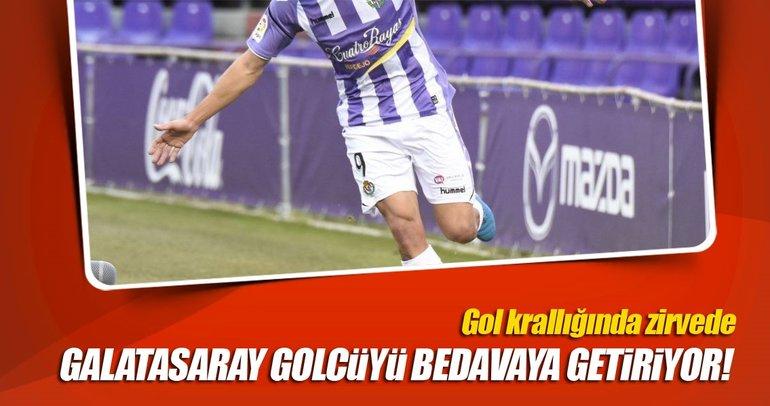 Galatasaray golcüyü bedavaya getiriyor!