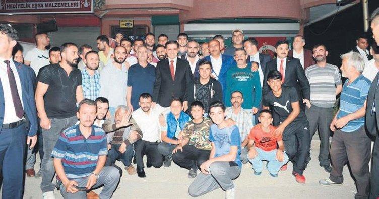 Vali, Altındağ'da halkla buluştu
