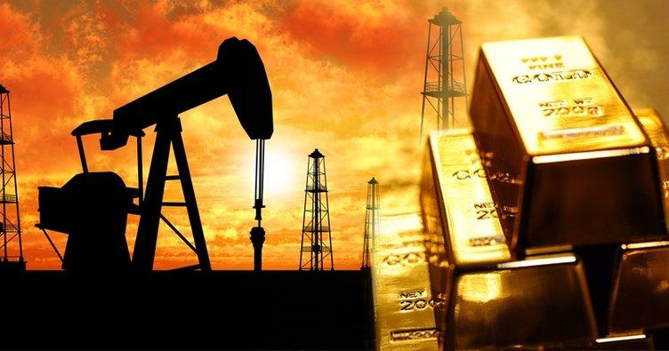 Altın fiyatları düştü petrol yatay seyretti