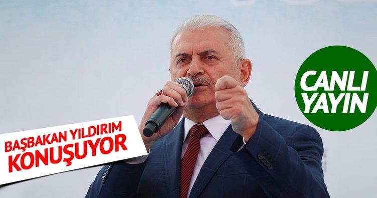 Başbakan Yıldırım Erzincan'da açıklamalarda bulundu