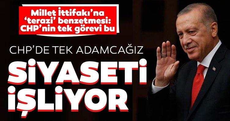 Son dakika: Başkan Erdoğan'dan Kılıçdaroğlu'na sert sözler: CHP'de tek adamcağız siyaseti işliyor
