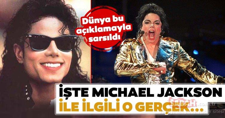 Michael Jackson ile ilgili şoke eden gerçek ortaya çıktı! İşte Michael Jackson ile ilgili o gerçek...