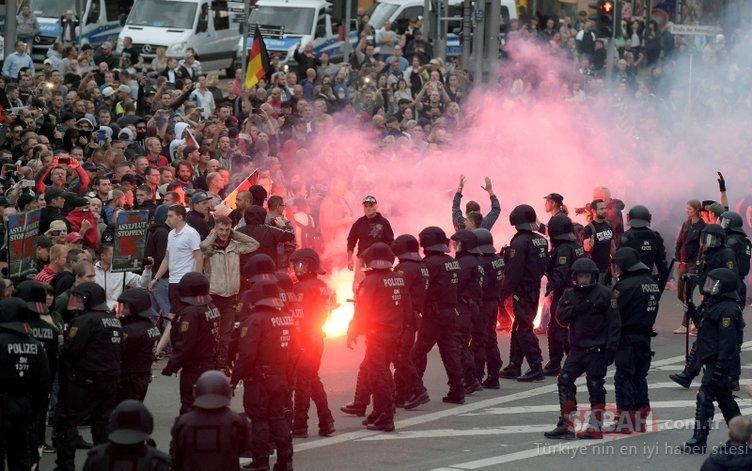 Almanya'da sokaklar gergin