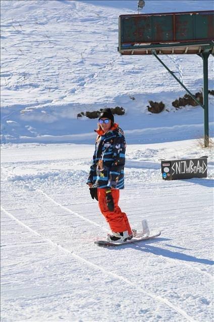 Kartalkaya'da kayak sezonu açıldı