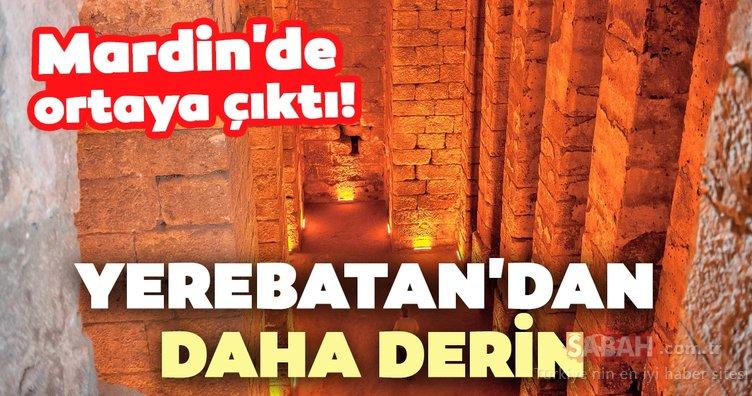 Mardin'de ortaya çıktı! Yerebatan Sarnıcı'ndan daha derin