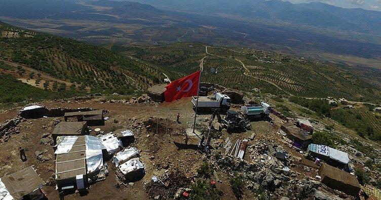 Terörden arındırılan Afrin'in her karışı taranıyor