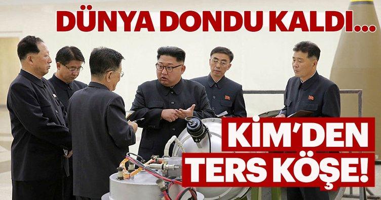 Kuzey Kore'den ters köşe!