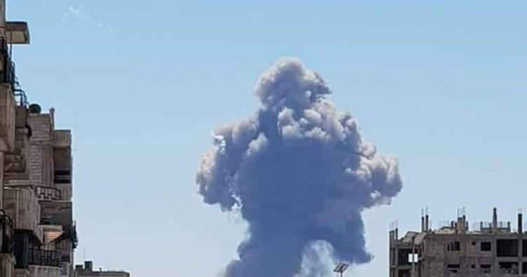 Son dakika: Suriye'de patlama
