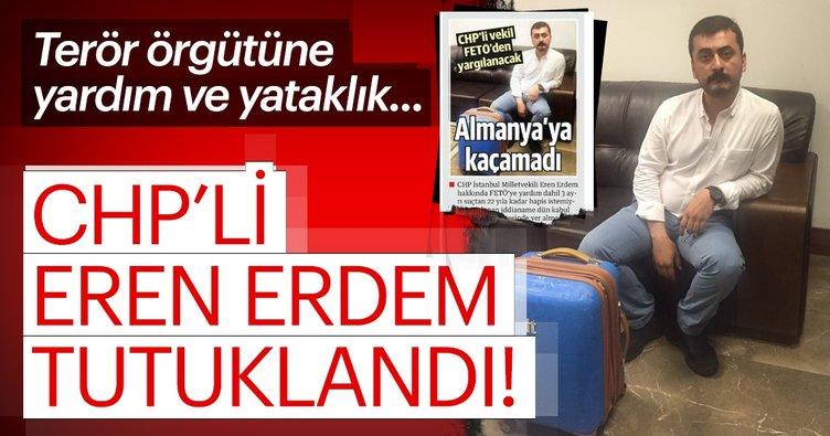 Son dakika haberler: CHP eski milletvekili Eren Erdem tutuklandı!