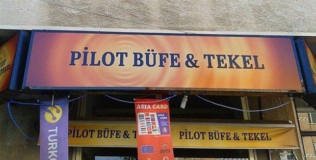 Sıradışı dükkan isimleri