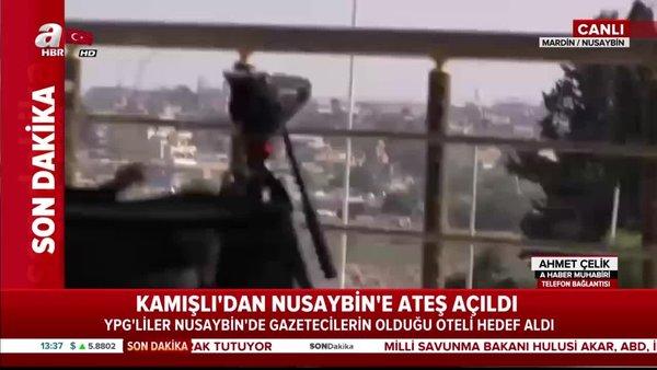YPG, Nusaybin'de gazetecileri hedef aldı!