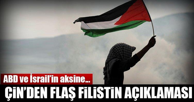 Çin'den bağımsız Filistin'e destek!