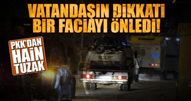 Van'da PKK'dan hain tuzak