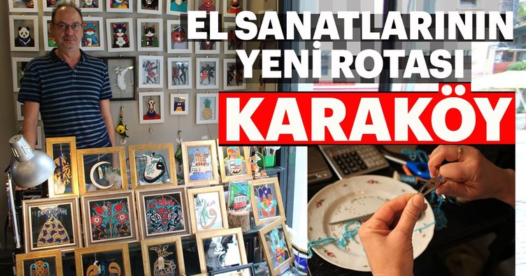 El sanatlarının yeni rotası: Karaköy