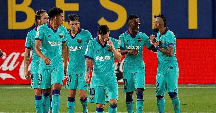 Villarreal 1-4 Barcelona | MAÇ SONUCU