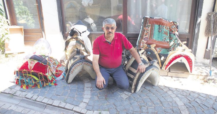 Ankara'nın tek semercisi