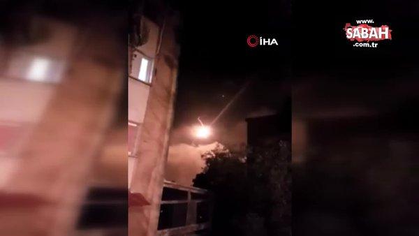 İsrail ordusu, İsrail Lübnan sınırında aydınlatma fişekleri ve fosfor bombaları attı | Video