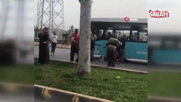 Mersin'de dehşet anları... Otobüsünün çarptığı kadın hayatını kaybetti!
