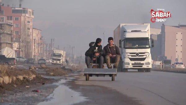 Yüksekovalı kardeşler hurda malzemeden elektrikli araç yaptı | Video