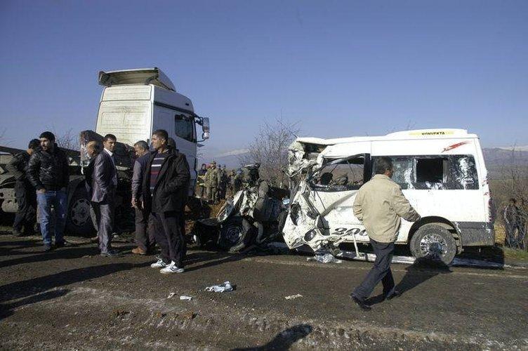 Kahramanmaraş'ta feci kaza