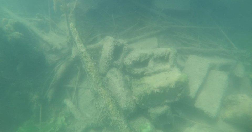 Gaga Gölü'nde kilise kalıntılarına rastlandı