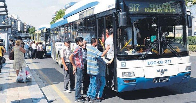 15 Temmuz'da başkentte toplu taşıma ücretsiz olacak