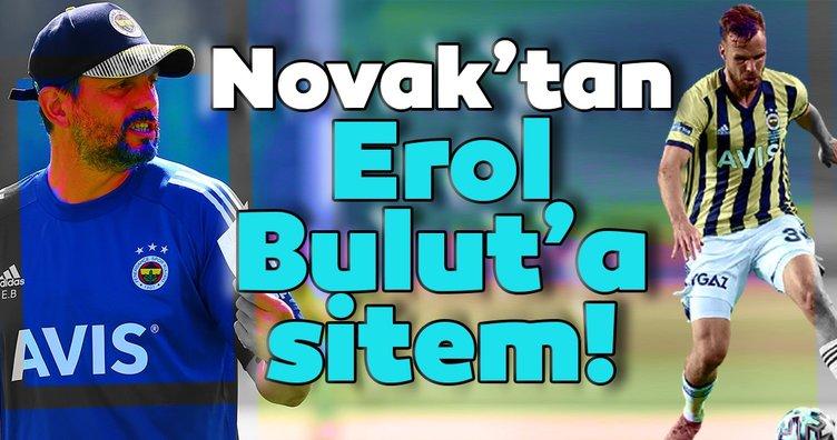 Fenerbahçe'nin Çek futbolcusu Filip Novak'tan Erol Bulut'a sitem!