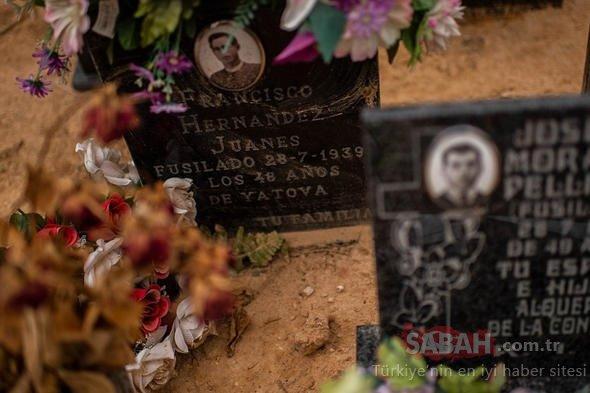 İspanya'da idam edilen 100 kişinin gömüldüğü toplu mezar bulundu