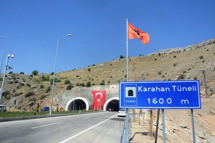 Doğu'yu 12 ile bağlayacak tünel açıldı