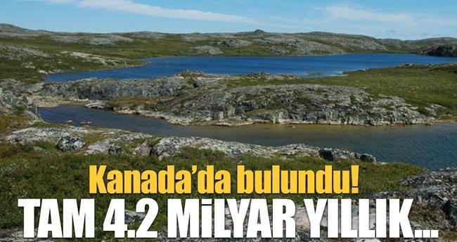 Kanada'da 4,2 milyar yıllık yer kabuğu örneği bulundu