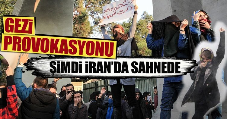 Gezi provokasyonu şimdi İran'da sahnede