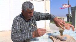 Gaziantep'te 21 yıldır akrep toplayan adamdan eşine tehlikeli test...