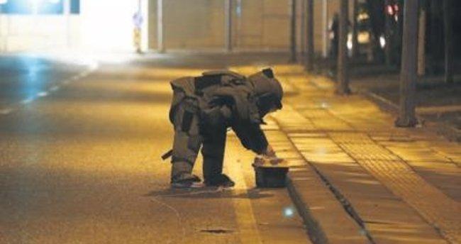 CHP'nin yakınında şüpheli paket paniği