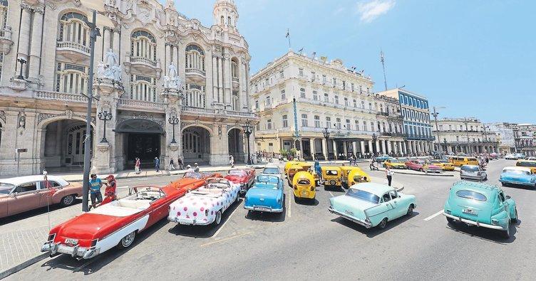 Zamanın durduğu bir açık hava müzesi Havana